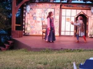 A scene from Twelfth Night by Shakespeare