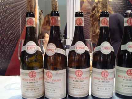 Older Vintages of Emidio Pepe's Wines
