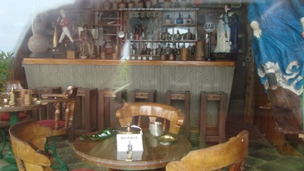 Bar at Isla Negra