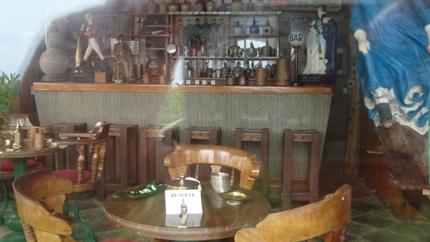 Bar at Isla Negra