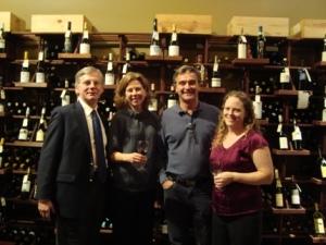 Alain, Keri, Francois, Mollie at Maslow 6