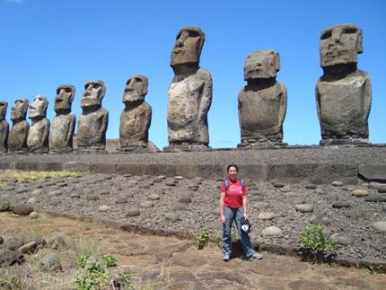 Me & the Moai
