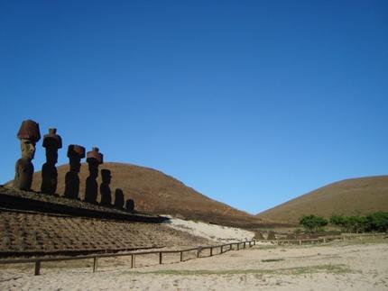 Sky on Easter Island