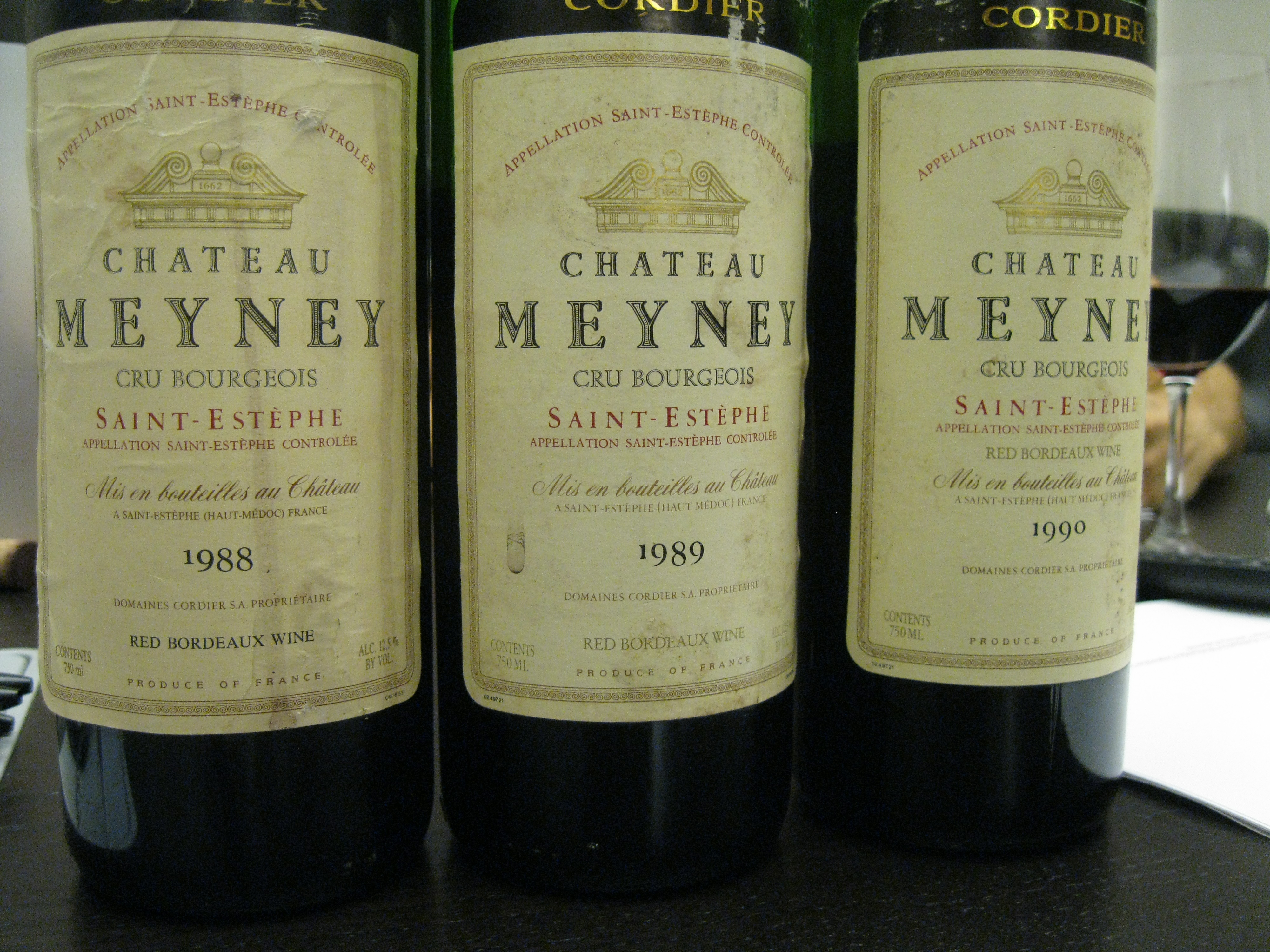 Chateau Meyney  2010 Bordeaux Red Blends Wine Red Blends Wine