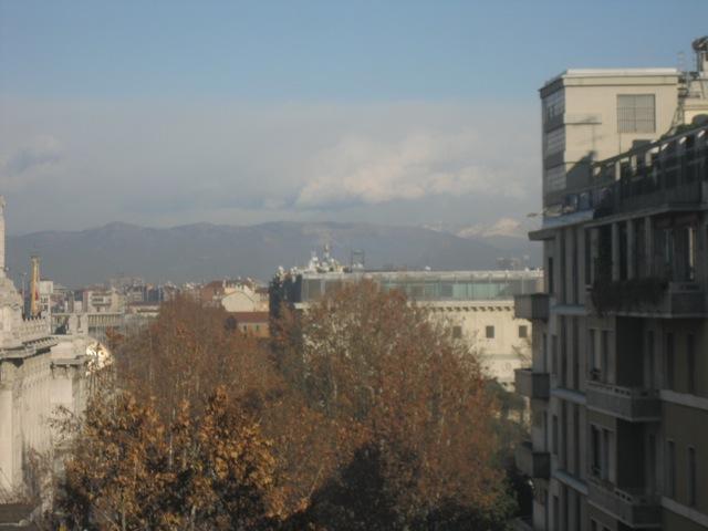 Mountains in Milan