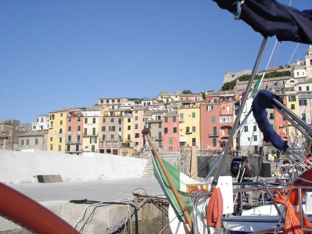 Ligurian Hill Towns