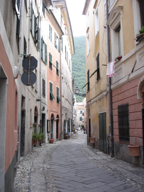 Narrow Streets in Liguria