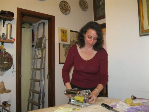 Making Pasta In Florence