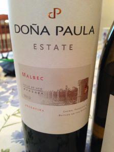 Dona Paula Malbec