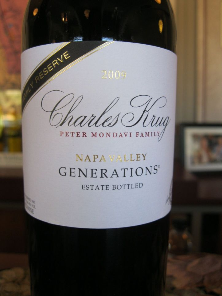 Generations - Charles Krug