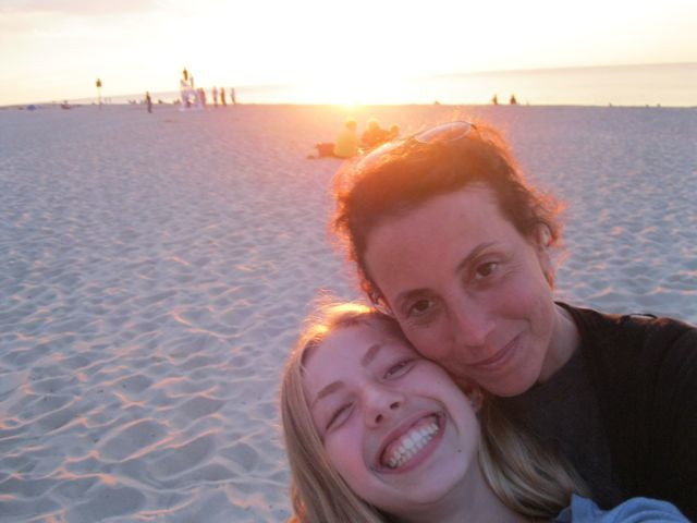 With Lucia on Cape Cod