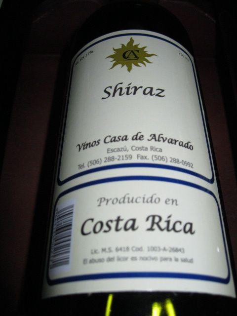 Shiraz Costa Rica