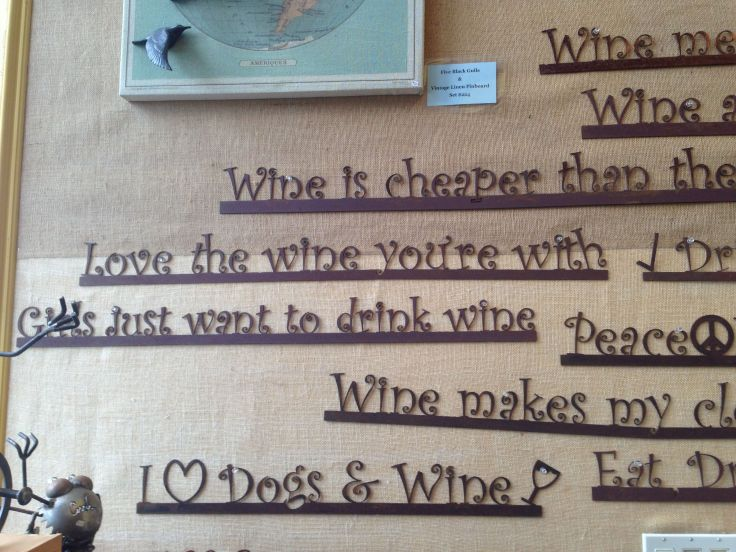 Love the Wine Your With