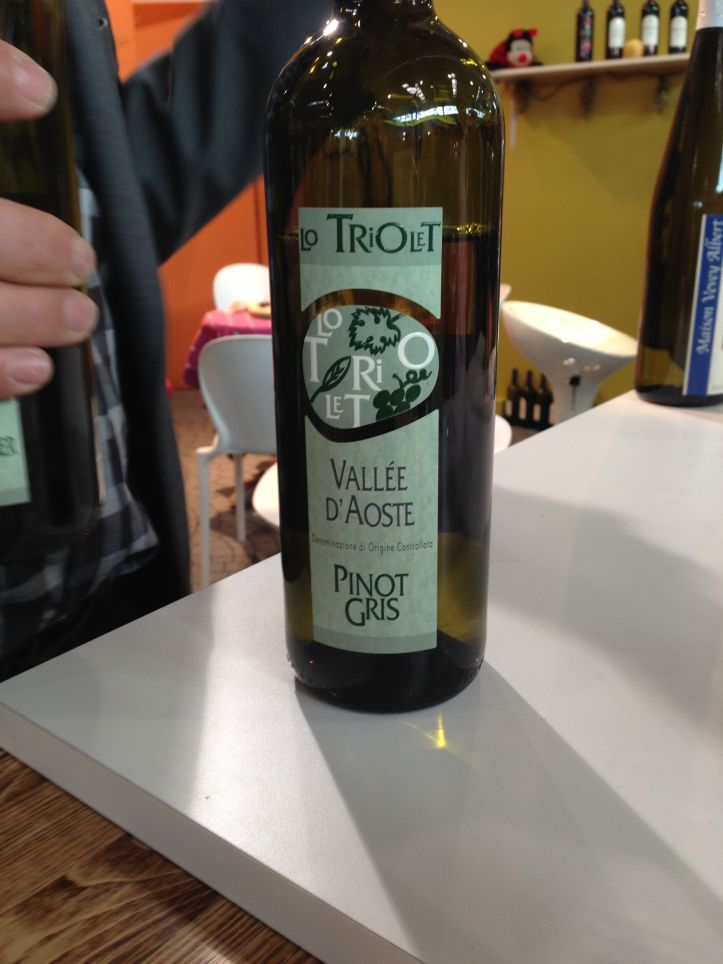 Pinot Gris from Triolet