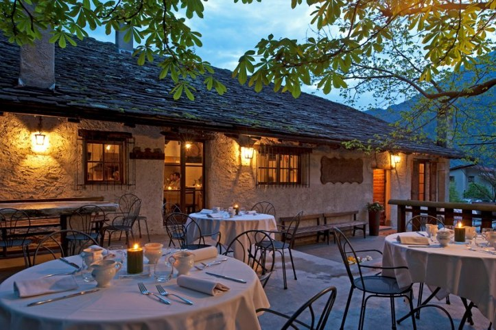 Old winery and family restaurant