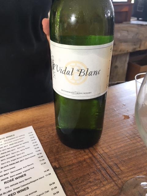 Buttonwood Vidal Blanc